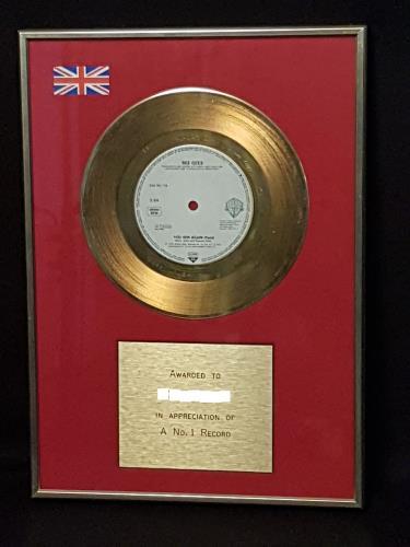Bee Gees You Win Again in-house award disc UK BGEAIYO551737