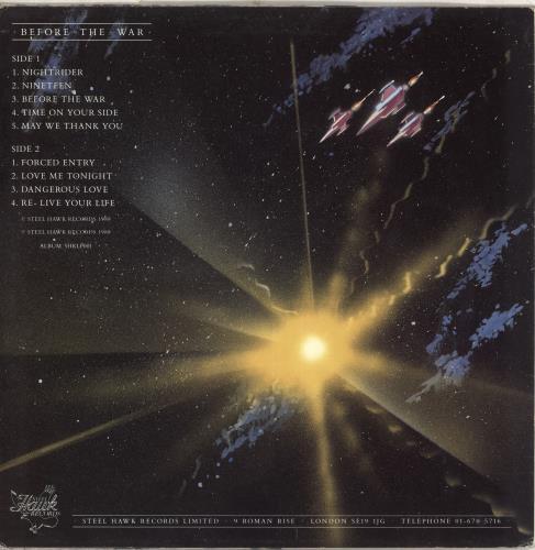 Before The War Before The War vinyl LP album (LP record) UK Q86LPBE709589