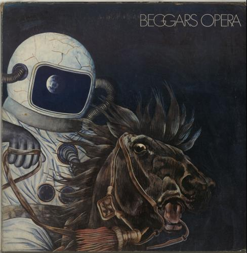 Beggar's Opera Pathfinder - 1st - VG UK vinyl LP album (LP