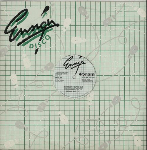 "Beggar & Co (Somebody) Help Me Out 12"" vinyl single (12 inch record / Maxi-single) UK BP612SO586165"