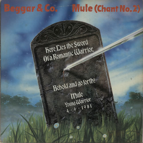 "Beggar & Co Mule (Chant No. 2) 12"" vinyl single (12 inch record / Maxi-single) UK BP612MU639662"