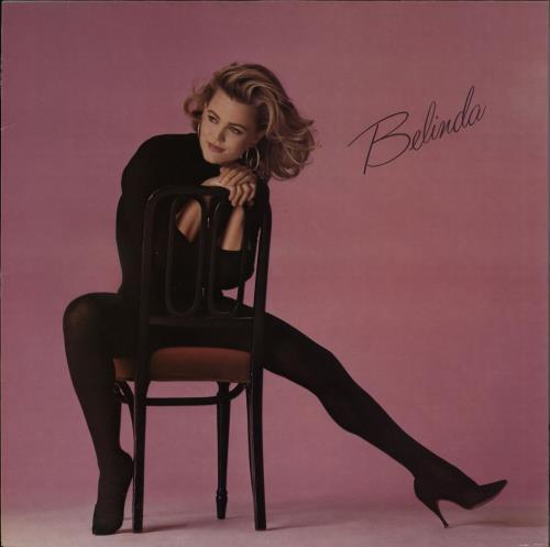 Belinda Carlisle Belinda vinyl LP album (LP record) UK CARLPBE764672