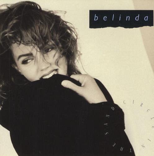 "Belinda Carlisle Circle In the Sand 7"" vinyl single (7 inch record) UK CAR07CI30590"