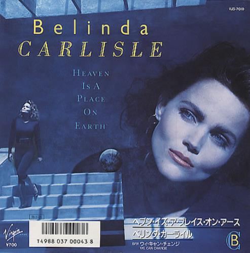 Best Places In Japan For Singles: Belinda Carlisle Heaven Is A Place On Earth Japanese 7
