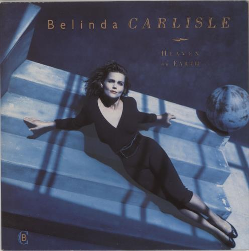 Belinda Carlisle Heaven On Earth vinyl LP album (LP record) UK CARLPHE677393