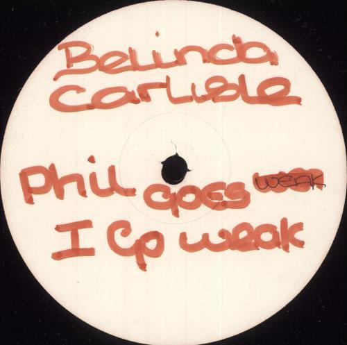 "Belinda Carlisle La Luna - Test Pressing 12"" vinyl single (12 inch record / Maxi-single) UK CAR12LA03529"