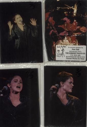 Belinda Carlisle Set of Four Packs of Nine Concert Photos photograph UK CARPHSE677464