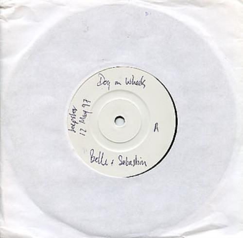 """Belle & Sebastian Dog On Wheels 7"""" vinyl single (7 inch record) UK B&S07DO287516"""
