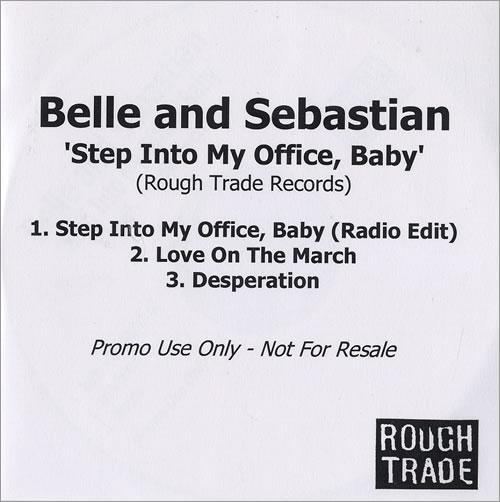 Belle & Sebastian Step Into My Office, Baby CD-R acetate UK B&SCRST471450