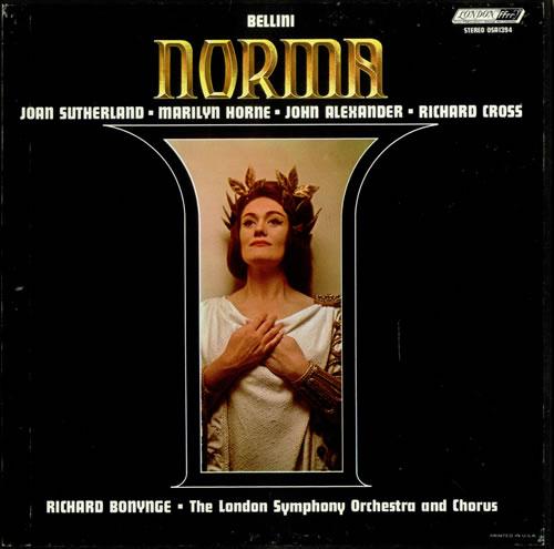 Bellini Norma 3-LP vinyl record set (Triple Album) US BII3LNO535652