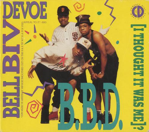 "Bell Biv Devoe I Thought It Was Me? CD single (CD5 / 5"") US BGXC5IT464090"