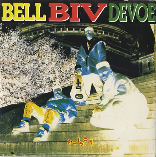 "Bell Biv Devoe Poison CD single (CD5 / 5"") UK BGXC5PO441439"