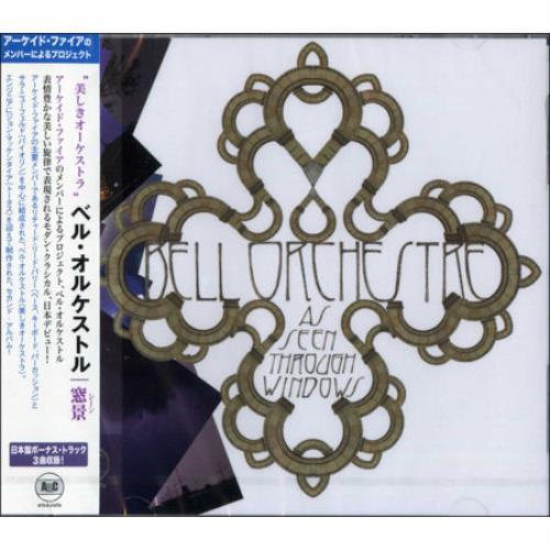 Bell Orchestre As Seen Through Windows + Obi - Sealed CD album (CDLP) Japanese BEOCDAS468795