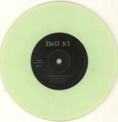 "Bell X1 Eve, The Apple Of My Eye - Light Green Vinyl 7"" vinyl single (7 inch record) UK BX107EV291861"