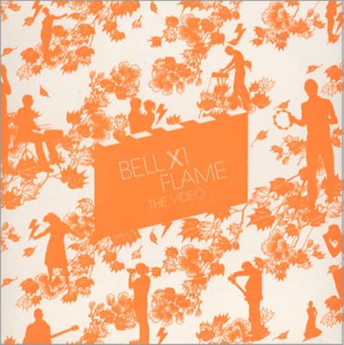 Bell X1 Flame - The Video promo DVD-R UK BX1DRFL356698