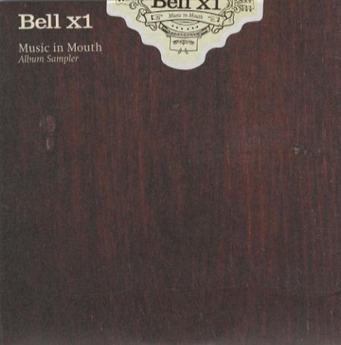 """Bell X1 Music In Mouth Album Sampler CD single (CD5 / 5"""") UK BX1C5MU250469"""