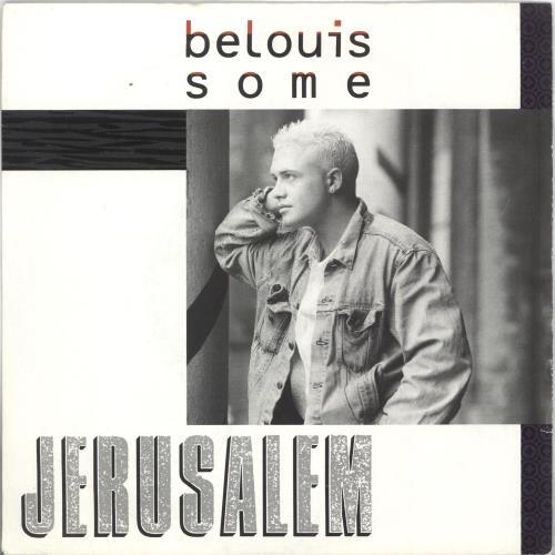 """Belouis Some Jerusalem 7"""" vinyl single (7 inch record) UK BOU07JE726567"""