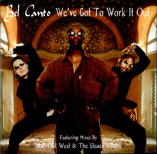 """Bel Canto We've Got Work To Do 12"""" vinyl single (12 inch record / Maxi-single) UK BF712WE507968"""