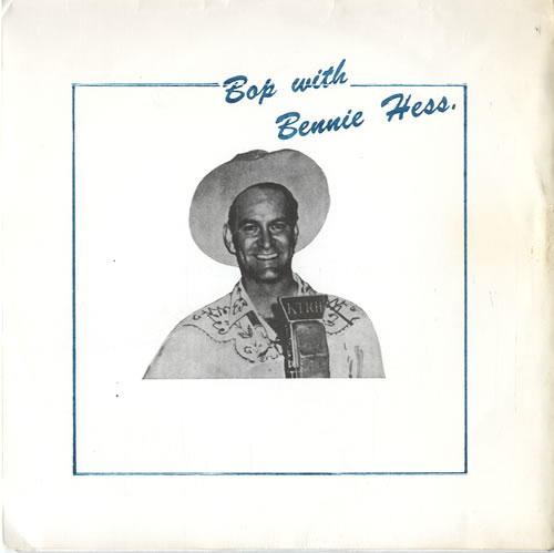 "Bennie Hess Bop With Bennie Hess 7"" vinyl single (7 inch record) UK F4807BO614667"