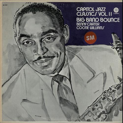 Benny Carter Big Band Bounce vinyl LP album (LP record) US BCALPBI583937