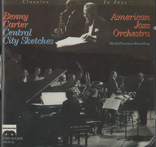 Benny Carter Central City Sketches CD album (CDLP) US BCACDCE492417