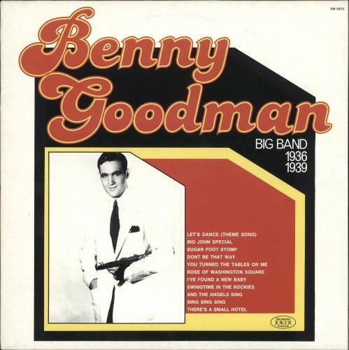 Benny Goodman Benny Goodman Big Band 1936-1939 vinyl LP album (LP record) Italian BG1LPBE723542