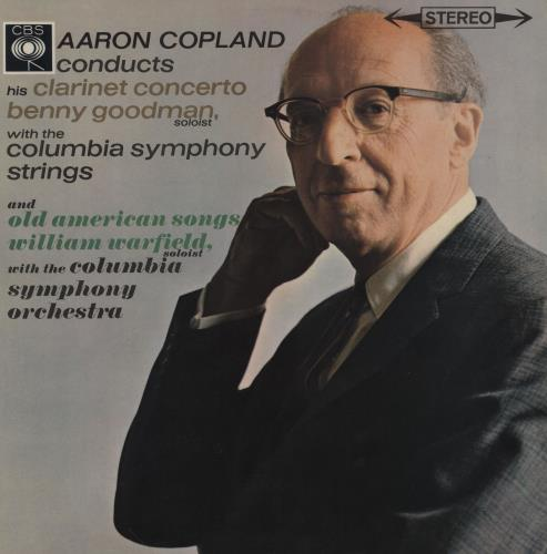 Benny Goodman Clarinet Concerto/ Old American Songs vinyl LP album (LP record) UK BG1LPCL761784
