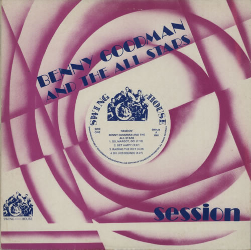 Benny Goodman Session vinyl LP album (LP record) UK BG1LPSE610260
