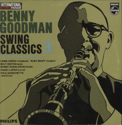 Benny Goodman Swing Classics 3 vinyl LP album (LP record) Dutch BG1LPSW746023