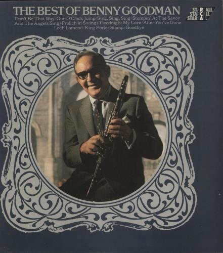 Benny Goodman The Best Of Benny Goodman vinyl LP album (LP record) UK BG1LPTH731110