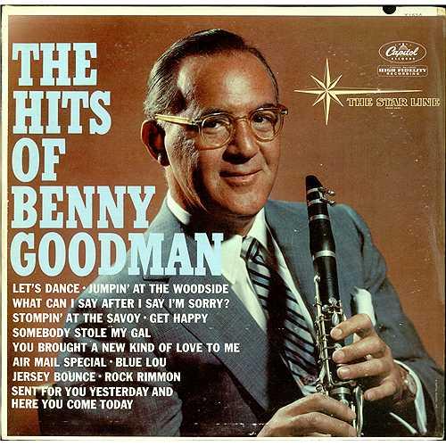 Benny Goodman The Hits Of Benny Goodman Us Vinyl Lp Album