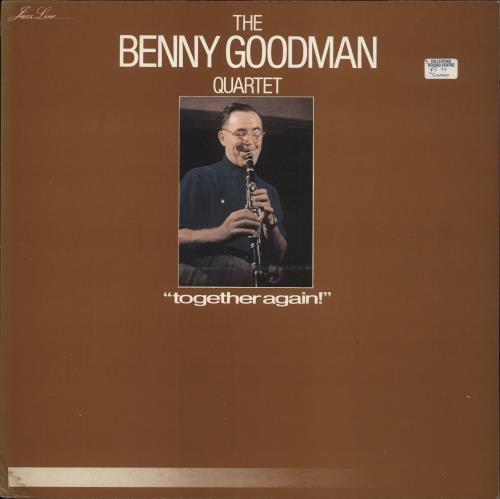 Benny Goodman Together Again! vinyl LP album (LP record) French BG1LPTO384592