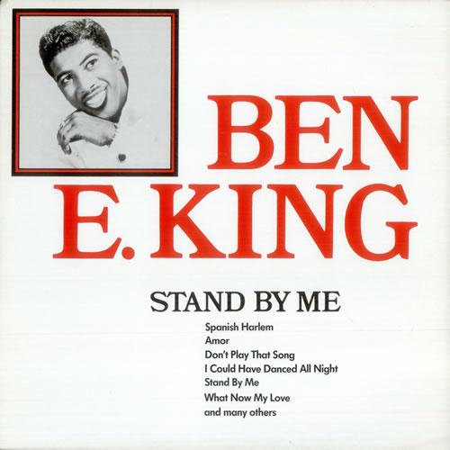 Ben E. King Stand By Me vinyl LP album (LP record) German BKGLPST529135