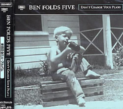 "Ben Folds Five Don't Change Your Plans CD single (CD5 / 5"") Japanese BFEC5DO262533"
