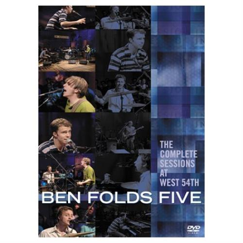 Ben Folds Five The Complete Sessions DVD UK BFEDDTH437193