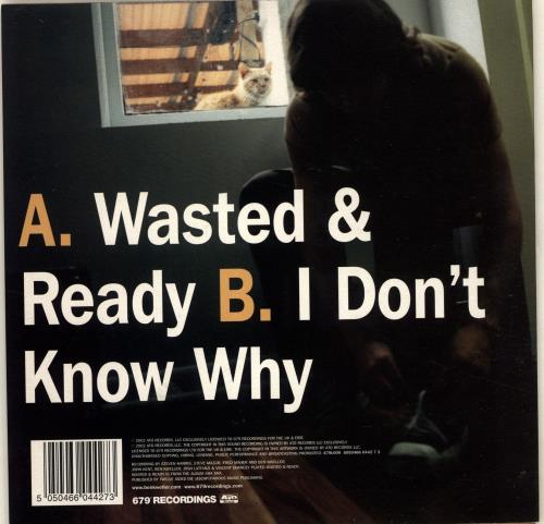 "Ben Kweller Wasted & Ready 7"" vinyl single (7 inch record) UK BKW07WA704955"