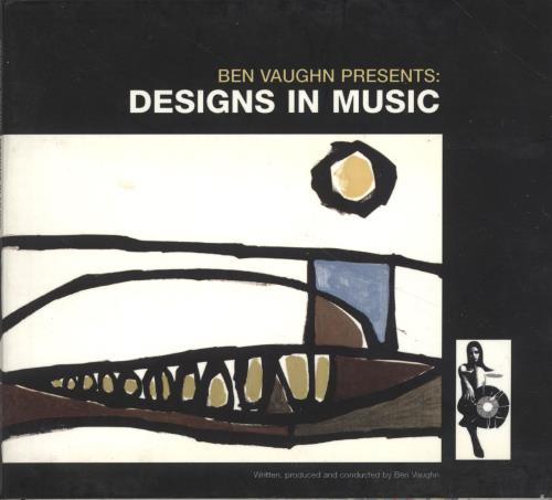 Ben Vaughn Designs In Music CD album (CDLP) Spanish B36CDDE701260