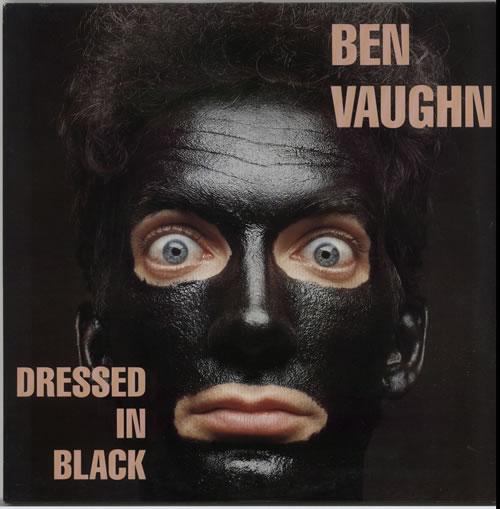 Ben Vaughn Dressed In Black vinyl LP album (LP record) UK B36LPDR634694