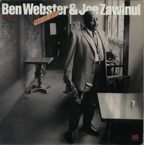 Ben Webster Trav'lin' Light 2-LP vinyl record set (Double Album) Italian BNW2LTR586233