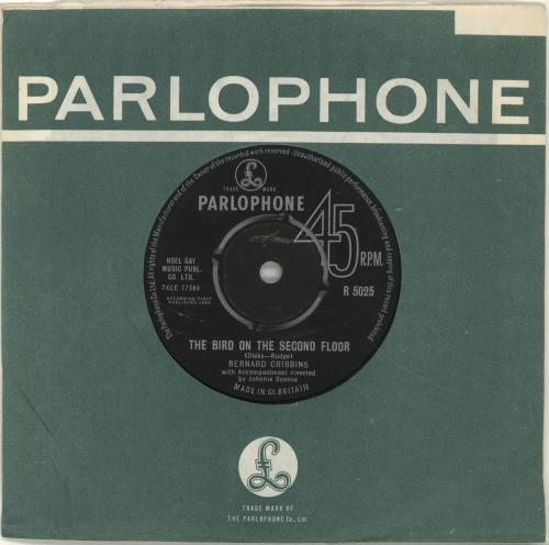 "Bernard Cribbins The Bird On The Second Floor 7"" vinyl single (7 inch record) UK CR-07TH696880"