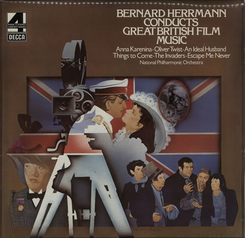 Bernard Herrmann Conducts Great British Film Music vinyl LP album (LP record) UK 1BHLPCO584428