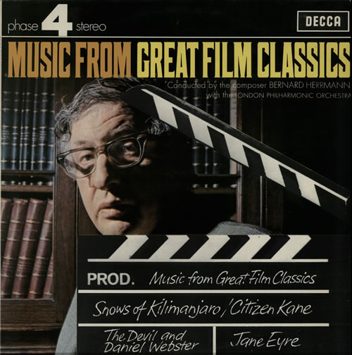 Bernard Herrmann Music From Great Film Classics vinyl LP album (LP record) UK 1BHLPMU584412