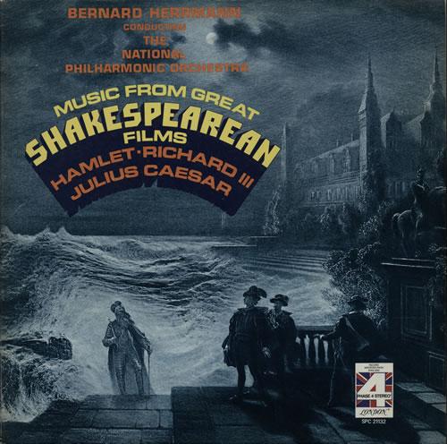 Bernard Herrmann Music From Great Shakespearean Films vinyl LP album (LP record) UK 1BHLPMU584413
