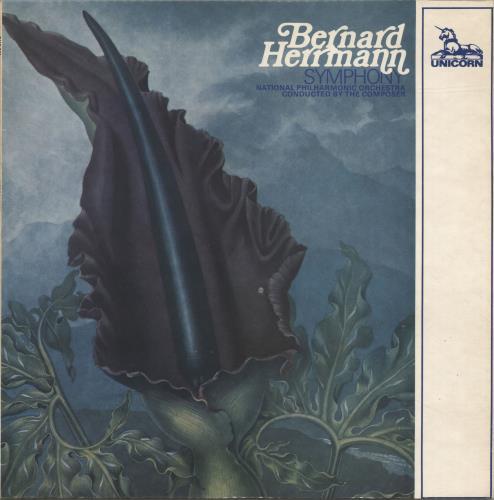 Bernard Herrmann Symphony vinyl LP album (LP record) UK 1BHLPSY624636