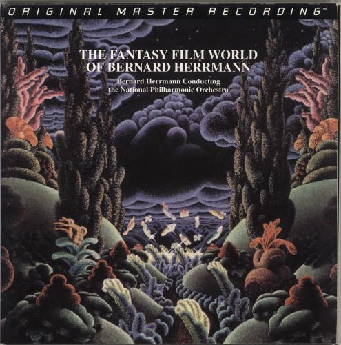 Bernard Herrmann The Fantasy Film World Of Bernard Herrmann - 200gm vinyl LP album (LP record) US 1BHLPTH714798