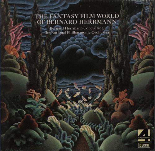 Bernard Herrmann The Fantasy Film World Of Bernard Herrmann vinyl LP album (LP record) UK 1BHLPTH583438