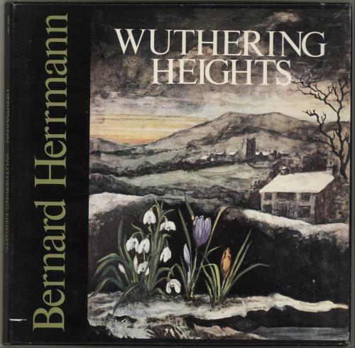Bernard Herrmann Wuthering Heights Vinyl Box Set UK 1BHVXWU699474
