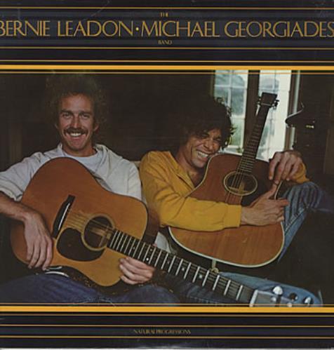 Bernie Leadon Natural Progressions vinyl LP album (LP record) US BL0LPNA319162