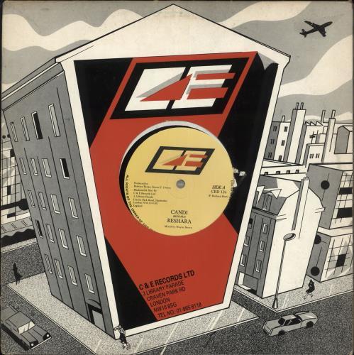 "Beshara Candi 12"" vinyl single (12 inch record / Maxi-single) UK BQA12CA709487"