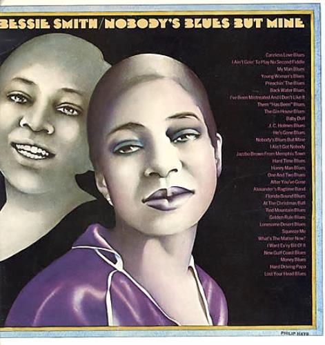 Bessie Smith Nobody's Blues But Mine 2-LP vinyl record set (Double Album) US BEH2LNO377740